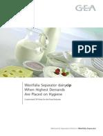 Westfalia Separator - Dairy CIP