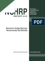 Report on MRE Based Bearings
