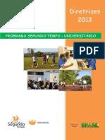 Diretrizes PST Universitário2014