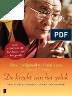 Lama, Dalai - De Kracht Van Het Geluk.epub