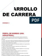 Desarrollo de Carrera