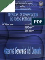 Tecnicas de Cementacion Grupo # 1
