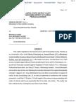 VENEZIA RESORT LLC v. FAVRET et al - Document No. 9