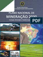 Brazilian National Plan for Mining - 2030 (Portuguese)