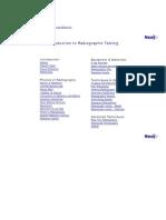 NDT-ED Radiography