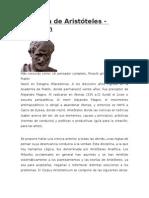 Biografia de Aristóteles Sir Artur