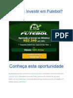 Ganhar Dinheiro Com Futebol Na Internet