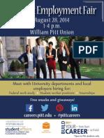 student employment fair 8 5x11