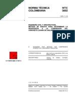 NTC3802 Compresion Concreto Liviano