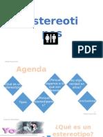 Presentacion estereotipos