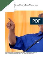 1MDB Scandal Could Explode on Umno