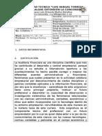 Syllabus de Auditoria Financiera