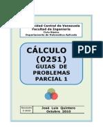 Guias Tema 1 Calculo i (Parcial 1)