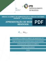 Apresentação Semana Acadêmica Unioeste 2014