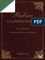 Balzac, Honore de - [La Comedia Humana (Editorial Lorenzana) 22] Los Chuanes & Una Pasion en El Desierto [24494] (r1.0 Piolin)