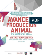 Avances Prod Animal 2014