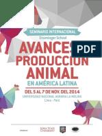 Avances Prod Animal 2014