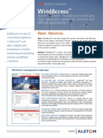Windaccess Scada Control System Onshore Offshore Wind