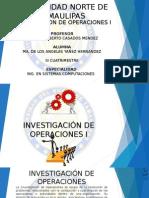 INVESTIGACION DE OPERACIONES 1