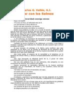 Vallés, Carlos G. S.J., ORAR CON LOS SALMOS