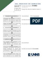 Flujograma de Inscripcion
