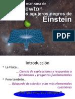 De la manzana de Newton a los agujeros negros de Einstein.pdf