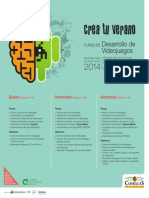 Curso Desarrollo Videojuegos'14