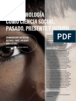 La Criminología como ciencia social. Pasado, Presente y Futuro.