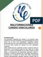 Malformaciones Cardio Vasculares