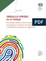 Orgullo (PRIDE) en el trabajo Argentina