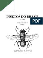 Insetos Do Brasil - Tomo 12 Final