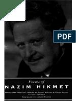 Hikmet, Nazim - Poems of Nazim Hikmet