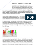 12 Motivi Per Aprire Un Blog (Si Rudy Ne Vale La Pena)