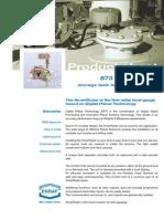 Enraf 873 Smartradar Product Sheet