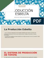 Producción esbelta