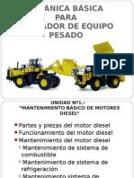 mantenimien tomotor diesel