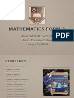 Mathematics Form 3