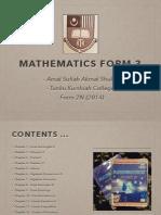Mathematics Form 3