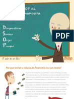 Folder Educação Financeira Nas Escolas