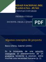Tema 1 -Proyectos