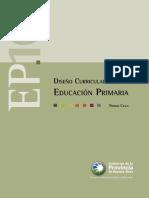 Disenio Curricular Para La Educacion Primaria Primer Ciclo Res Nº 3160 07
