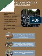 Impacto Ambiental Por Derrame de Petróleo- Trompetero