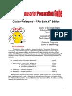 Student Manuscript Preparation Guide Revision 080913 (1)
