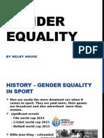 gender equality final