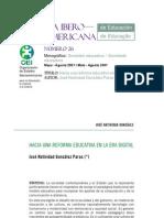 Revista Iberoamericana de Educación No. 26