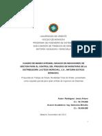 CUADRO DE MANDO INTEGRAL BASADO EN INDICADORES DE GESTIÓN PARA EL CONTROL DEL PROCESO DE INVENTARIO DE LA DISTRIBUIDORA LACTEOS MORICHAL, C.A., MATURIN ESTADO MONAGAS.