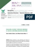 Revista Iberoamericana de Educación No. 27