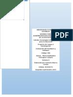 Ficha de Catalogación y Evaluación de Software Educativo