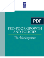 Pro-Poor Growth and Policy=the Ansian Experience