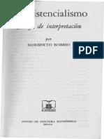 Bobbio, Norberto - El Existencialismo